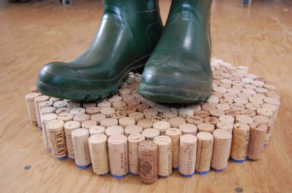 Cork Wet Shoe Rack