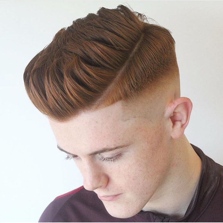 cool signature of men's haircuts