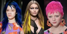 Highly Pigmented, Brightly-Colored Hair