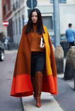 Thigh High Boots Styling With A Cape