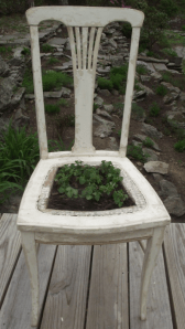 Vintage Chair Planter