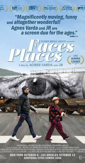 """""""Faces Places"""" (Agnes Varda) For Best Documentary Feature"""