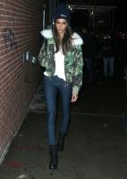 A Classic Camouflage Print with A Chic Shearling Topper, A Pair Of Jeans & Combat Boots