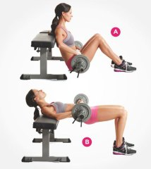 Barbell Hip Thrusts