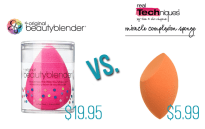 Beauty Blender vs. Real Techniques Sponge