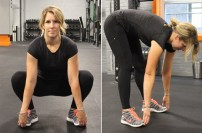 Deep Squat Stand Hip Stretch