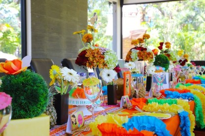 Hawaiian Themed Baby Shower