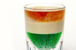 Irish Flag Layered Shooter