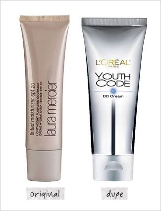 Laura Mercier Tinted Moisturizer vs. L'Oréal Paris Youth Code BB Cream