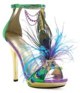 Mardi Gras High Heel Shoes
