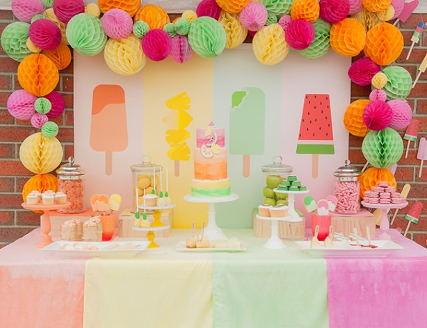 Popsicle Baby Shower Theme