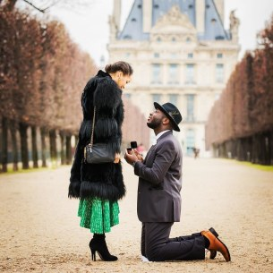 Propose In The Park