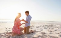 Propose On The Beach