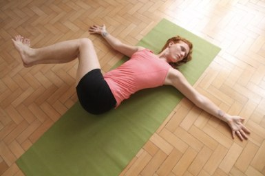 Reclined Spinal Twist Pose