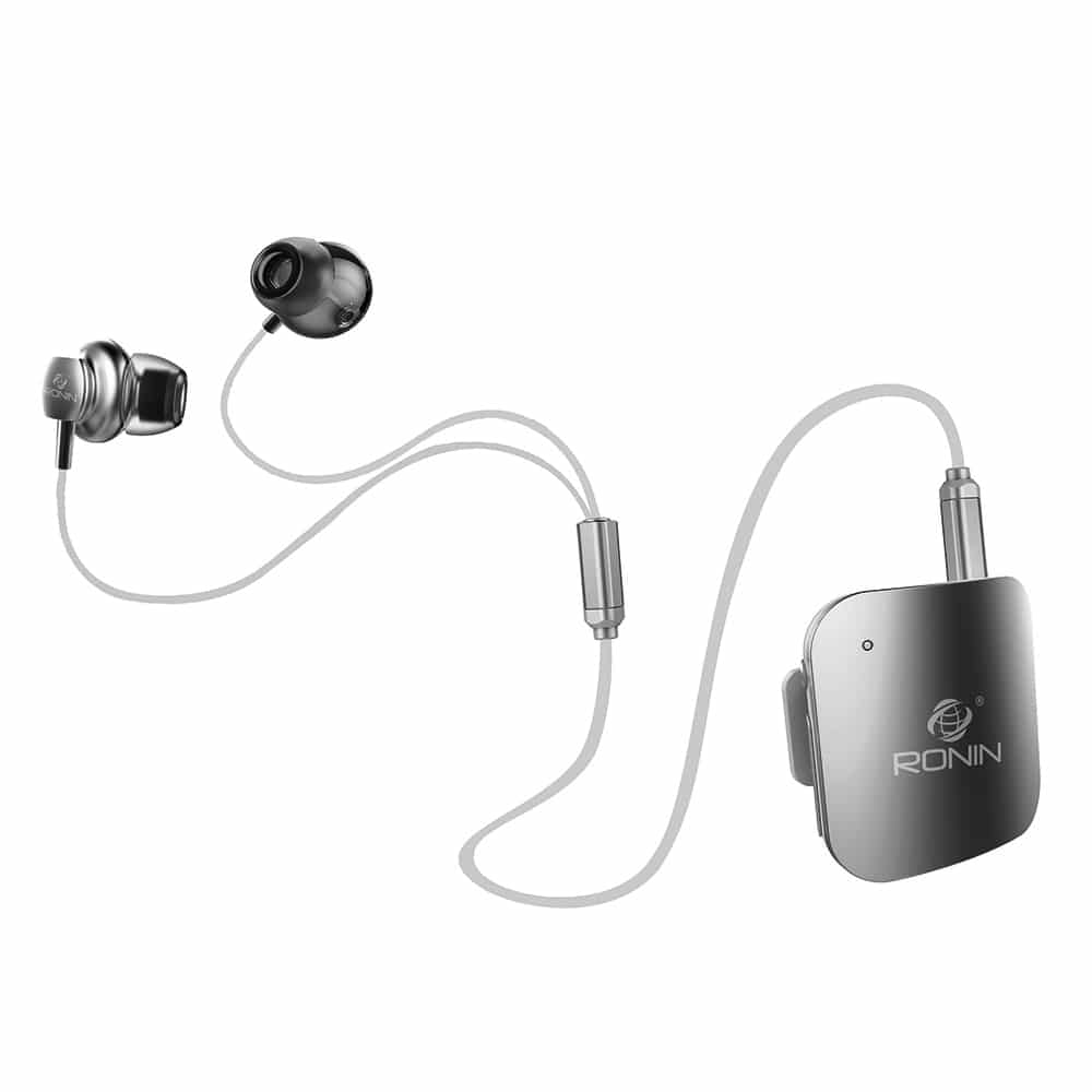 Ronin R 990 Metal Ear Phone Zoop Pk Mobile Accessories Store