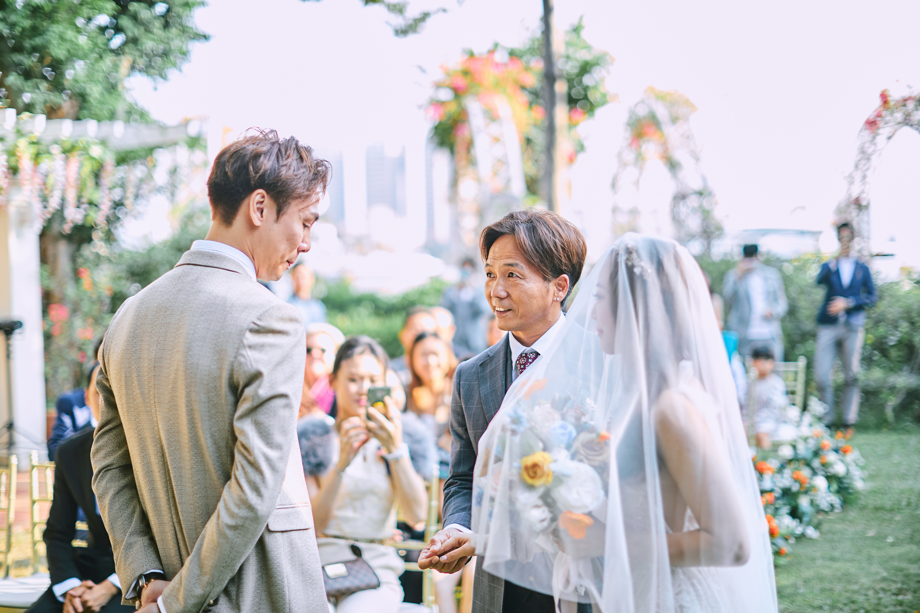 Priscilla and Ryan zOO Hong Kong Wedding Day photography 婚攝 草地證婚 小清新 - Gold Coast Hong Kong 香港黃金海岸酒店