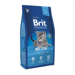 Корм для котят от 1 до 12 месяцев Brit Premium Cat Kitten