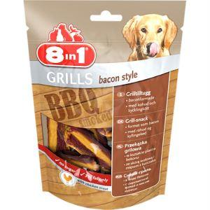 Лакомство для собак гриль-снэк бекон 8 in 1 Grills bacon style