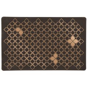 Коврик под миску Trixie коричневый/бронзовый 44х28 см