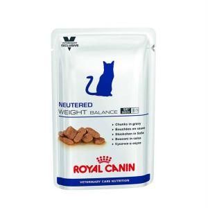 Влажный корм для кастрированных котов и стерилизованных кошек, склонных к полноте Royal Canin NEUTERED WEIGHT BALANCE