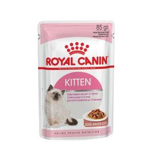 Влажный корм для котят до 12 месяцев Royal Canin KITTEN INSTINCTIVE в соусе