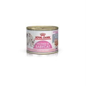 Влажный корм (мусс) для котят до 4 месяцев, беременных и кормящих кошек Royal Canin BABYCAT INSTINCTIVE