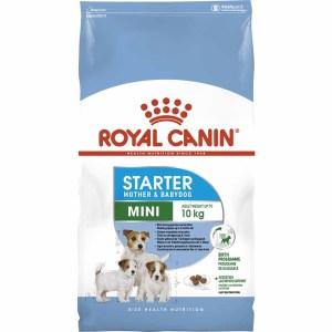 Сухой корм для щенков до 2 месяцев, беременных и кормящих сук мелких пород Royal Canin MINI STARTER MOTHER & BABYDOG