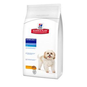 Корм для собак мелких пород старше 7 лет - Активное долголетие Hill's SP Canine Mature Adult 7+ Active Longevity Mini с курицей