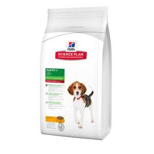 Корм для щенков средних пород - Здоровое развитие Hill's SP Canine Puppy Healthy Development Medium с курицей