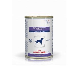 Влажный корм для собак при пищевой аллергии/непереносимости Royal Canin SENSITIVITY CONTROL CHICKEN