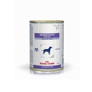 Влажный корм для собак при пищевой аллергии/непереносимости Royal Canin SENSITIVITY CONTROL DUCK