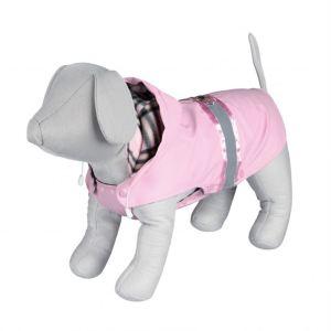 """Пальто для собак """"Como"""" розовое с паетками Trixie"""