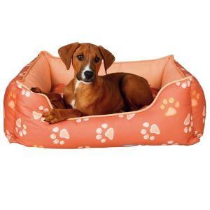 """Лежак для собак """"Jimmy"""" Trixie лососевый с лапками нейлон"""