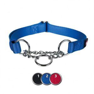 """Ошейник для собак с цепочкой """"Premium"""" Trixie черный, синий, красный нейлон"""
