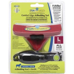 Грабли FURflex Комбо L против линьки для собак крупных пород