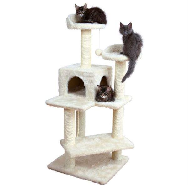 """Дряпка для кошек """"Simona"""" Trixie кремовая 130 см."""