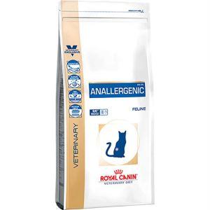 Лечебный сухой корм для кошек при пищевой аллергии или непереносимости с ярко выраженной гиперчувствительностью Royal Canin ANALLERGENIC FELINE