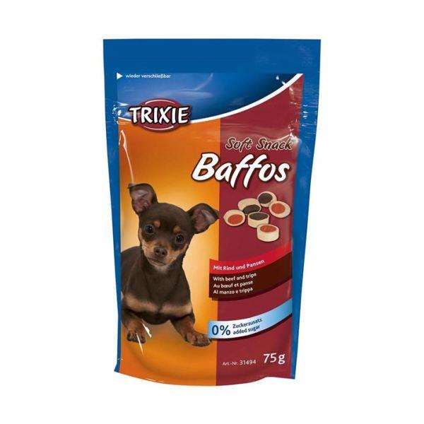 "Лакомство для собак ""Baffos"" Trixie 75 гр. (говядина и желудок)"