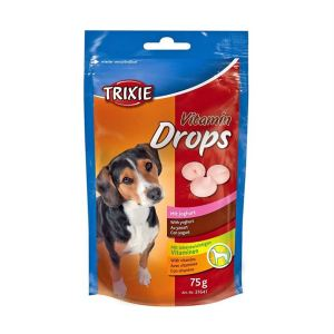 "Лакомство для собак ""Vitamin Drops"" Trixie 75 гр.; 200 гр. (йогурт)"