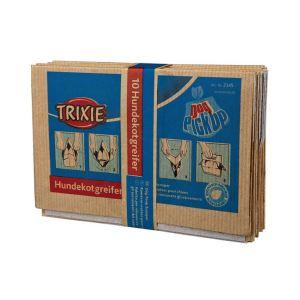 Пакеты гигиенические бумажные для уборки за собаками Trixie 10 шт.