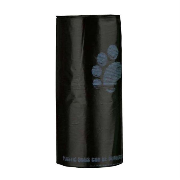 Пакеты с лапками для уборки фекалий собак Trixie S 4 рулона по 20 шт. (полиэтилен)