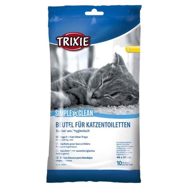 Пакеты уборочные для кошачьего туалета Trixie размеры M, L, XL