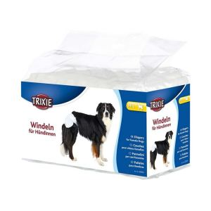 Памперсы для собак (для сук) Trixie XS-S, S-M , M, M-L , L, XL (12 шт.)