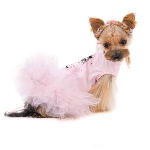 """Платье для собак Pet Fashion """"НИКОЛЬ"""" фламинго, девочка 2018"""