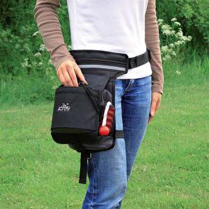 """Сумка-пояс с двойным креплением для дрессировки собак """"Dog Activity hip bag"""" Trixie 57 х 138 см. полиэстер"""