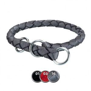 """Ошейник-удавка для собак """"Cavo"""" Trixie нейлон S-M 35-41 см./12 мм. черный, красный, графитовый"""