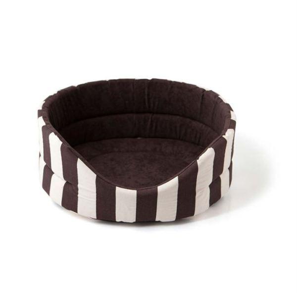 """Лежак для котов и собак """"MARINE"""" Comfy коричневый M 52х46х19 см."""