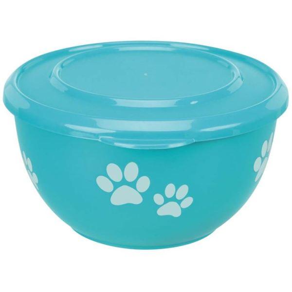 "Миска для собак металлическая с крышкой ""Fresh Feed"" Trixie 600 мл.; 900 мл."