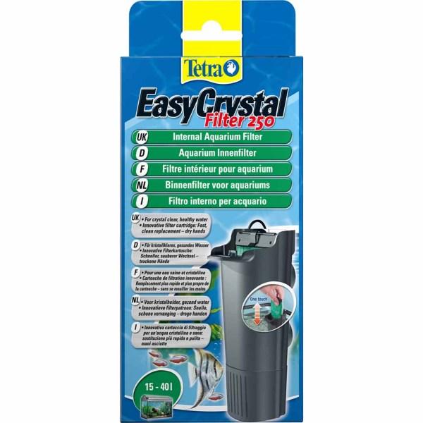 Внутренний фильтр для аквариума Tetra Easy Crystal 250 (на 15-40 л.)