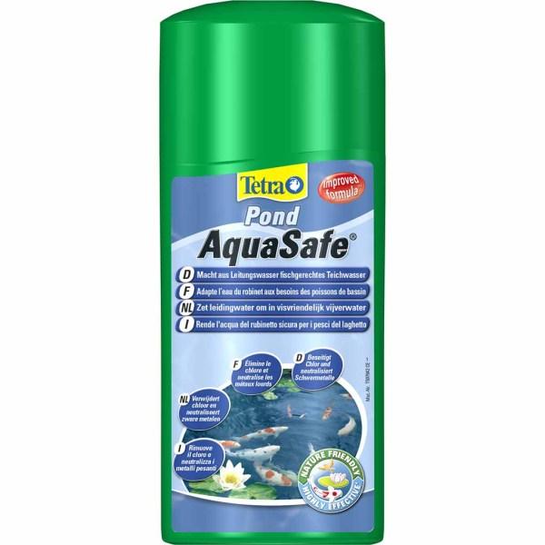 Средство для подготовки воды Tetra Pond Aqua Safe 250 мл.; 500 мл.; 1 л.